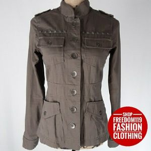 Dollhouse | Military Inspired Band Jacket (S)